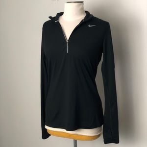 Nike Women's Dri Fit 3/4 ZIP